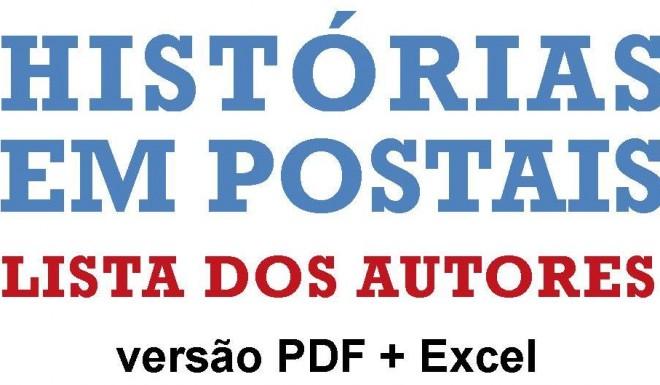 LISTA AUTORES HISTÓRIAS EM POSTAIS